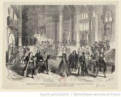 Théâtre de la Porte-Saint-Martin. Lucrèce Borgia, drame de M. Victor Hugo, Acte premier, scène dernière : [estampe] / D. Valnay [sig.] ; Froment [sig.] - 1