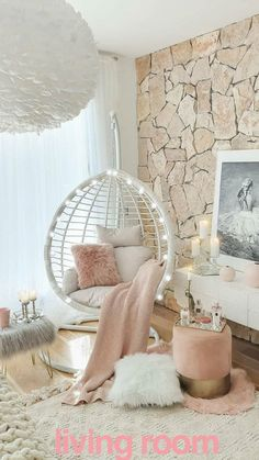 The way you decorate your home is somehow similar to choosing beautiful clothes to wear on a daily basis. An impressive interior decoration of your home or office is essential for your own state of mind, if nothing else. Bedroom Decor For Teen Girls, Cute Bedroom Ideas, Cute Room Decor, Room Ideas Bedroom, Girl Bedroom Designs, Teen Room Decor, Small Girls Bedrooms, Blue Bedrooms, Nursery Ideas