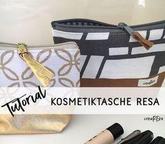 Kosmetiktasche Resa – auch für Anfänger