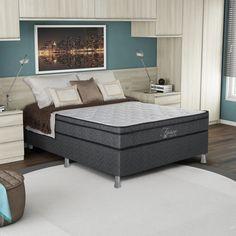 Um colchão de qualidade garante uma boa noite de sono. Isto faz seu dia render ainda mais. #Prod146491