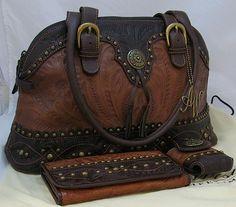 ~American West-DUNE-Shoulder Bag & Wallet & Cell Holder*Handbag/Purse