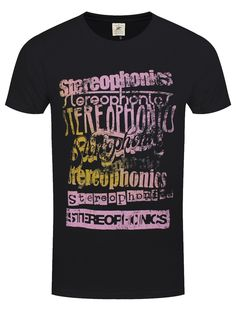 So take a look at me now! You're sure to turn heads wearing this awesome tee from Stereophonics, featuring their iconic logo. This epic t-shirt will add some rock n' roll to your wardrobe and is guaranteed to make you feel like the one! Official merch.