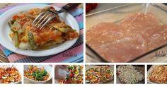 Zapiekanki - Kurczak zapiekany z warzywami