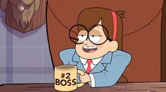 Mabel Pines in Boss Mabel I heart Gravity Falls Gravity Falls Quiz, Gravity Falls Episodes, Gravity Falls Secrets, Dipper And Mabel, Mabel Pines, Disney Channel Shows, Disney Shows, Grabity Falls, Arte Disney