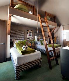 Select children's decor and provide a warm