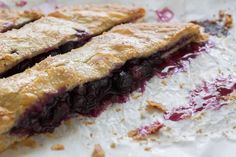 How To Entertain For Outdoor Parties: Spoon Fork Bacon's Blueberry Slab Pie. ('Nough Said.)