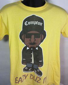 Eazy-E Eazy Duz It NWA Mens Size Small T Shirt Hip Hop Rap #RuthlessRecords #GraphicTee
