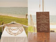 A Beautiful, Beachy Chic, Travel Inspired Wedding {Part 2}