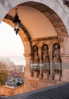 Photo : Fishermans Bastion, Budapest, Hungary, Europe