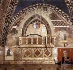 Puccio Capanna. Incoronazione della Vergine  1337-1338. Assisi (PG) Basilica di S. Francesco, Chiesa Inferiore