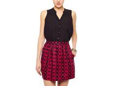 Cynthia Rowley Printed Skirt