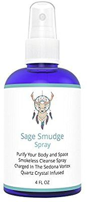 Amazon Com White Sage Smudge Spray For Cleansing And Clearing Energy 4 Oz Liquid Blend Alternative To Inc Smudge Spray Pure Essential Oils Oil Ingredients