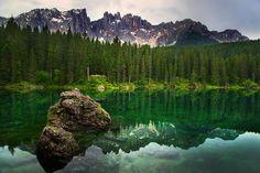 Carezza lake by Fra Trevi on 500px
