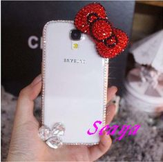 Hey, I found this really awesome Etsy listing at http://www.etsy.com/listing/154241144/cut-bowknot-samsung-galaxy-s4-case
