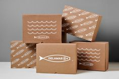 Delamar on Packaging of the World - Creative Package Design Gallery #packaging #package #packagingdesign #branding