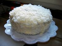 OLD FASHIONED COCONUT CAKE-Gotta try this, been looking for a recipe like my grandmothers-hope this is close