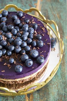 Mustikkasuklaaraakakakku © Hanna Stolt | Gurmee.net