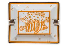 Hermès Porcelain Orange Cigar Ashtray on OneKingsLane.com