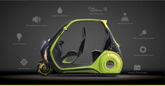 LINDO Smart Vehicle - by Kyle Armstrong / Core77 Design Awards