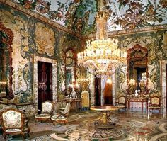 Salon Gasparini at the Royal Palace of Madrid.