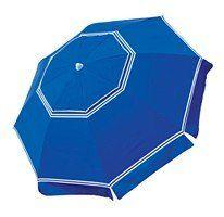 Nautica 7' Beach Umbrella with Valance - Blue : Amazon.com : Sports & Outdoors