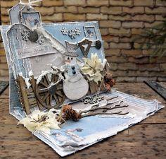 Life's little Embellishments: Welcome Winter*** Maja Design Mood Board December*. Christmas Pops, Christmas Scenes, Christmas Makes, Christmas Tag, Handmade Christmas, Vintage Christmas, Christmas Crafts, Christmas 2019, Christmas Ideas