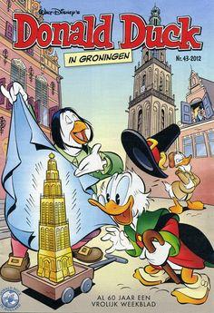 Donald Duck in Groningen !!
