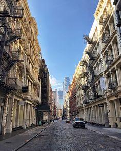 Greene St SoHo Manhattan by @scottlipps #newyorkcityfeelings #nyc #newyork