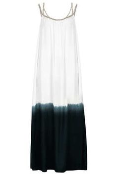 dip dye maxi cover up