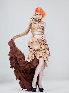 Beautiful post-apocalyptic dress