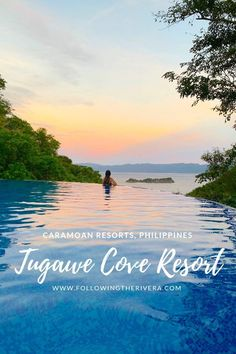 If you enjoy your resort with unspoiled views, peace and tranquility throughout, and an infinity pool to die for, you need to check out Tugawe Cove in the Islands in the Cool Places To Visit, Places To Travel, Travel Destinations, Asia Travel, Japan Travel, Beach Travel, Caramoan Island, Islands, Philippines Travel