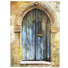 Azul Door Art