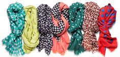 Fall must haves 2012 - scarfs   from www.momgenerations.com