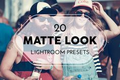 20 Matte Look Lightroom Presets by pixel_lady on Creative Market