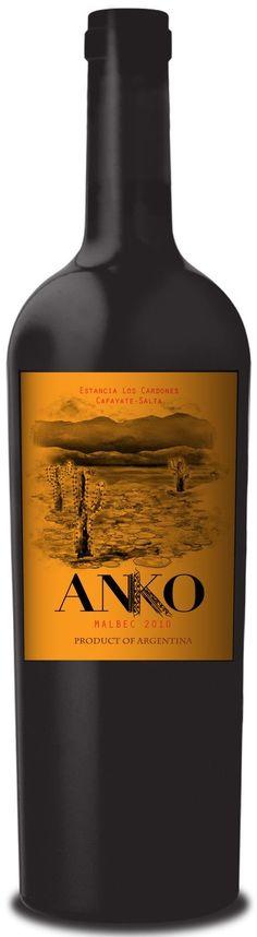 """Anko"" Malbec 2012 - Anko wines, Salta---------------------------- Terroir: Tolombón (Valle de Cafayate)------------------------------- Crianza: 9 meses en barricas de roble francés (10 % nuevas)"