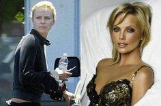 charlize theron without makeup Actress Without Makeup, Celebs Without Makeup, Charlize Theron, Male To Female Transgender, Celebrity Makeup Looks, Dior, Celebrities Before And After, Oval Faces, Photo Makeup