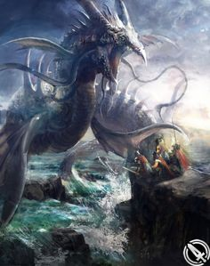 FFVII Leviathan from Mobius Final Fantasy