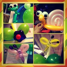 Animalitos con globos