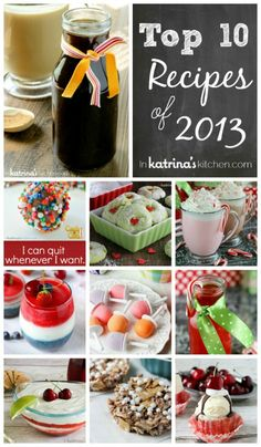 Top 10 recipes of 2013 In Katrina's Kitchen