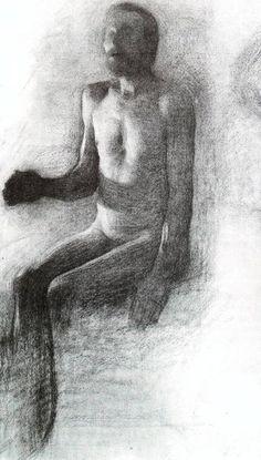 VILHELM HAMMERSHOI (1864 - 1916) DRAWING