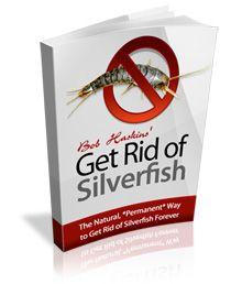 Get rid of silverfish!