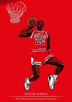 NBA Slam Dunk Heroes Art - Hooped Up