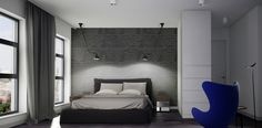 bedroom#La Lampe Gras#elitis wallpaper#