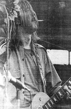 Duane's favorite photo of himself. Possibly Jacksonville 1969 (never confirmed.) Photo from Johnny Sandlin collection.