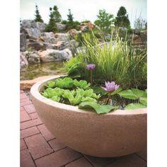 Garden Water Feature   Pop Up Pond Home Aquarium Comes With Aeration Pump |  Garden Water Features, Water Features And Gardens