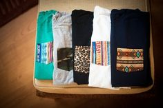 Make these pocket tees.