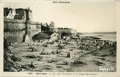 Saint Servan, Saint Michel, French Countryside, High Quality Images, Bing Images, Animation, France, Movie Posters, Painting