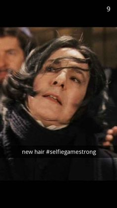 Snape's all about sending the odd #SnapeSelfie from time to time.