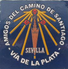 INFO: AACS - Sevilla Camino De Santiago, Santiago De Compostela, Sevilla, Coat Of Arms, Flags, Driveways, Money