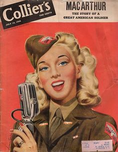 Colliers July 14 1945 Cover Art by  Jon Whitcomb